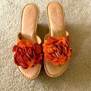 Born Womens Wedge Sandals